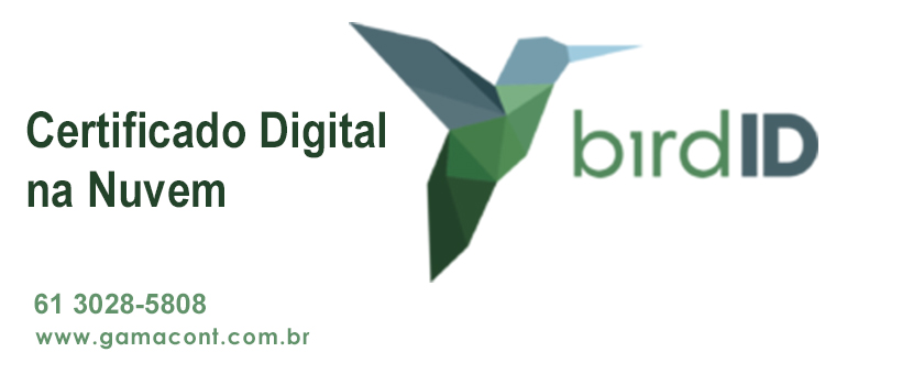 Bird ID o certificado digital na Nuvem